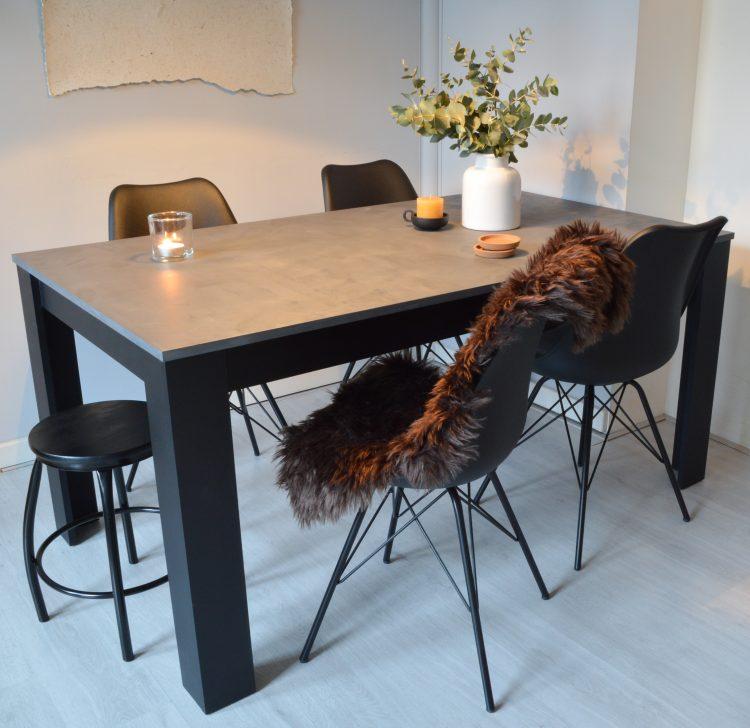 betonlook tafel diy