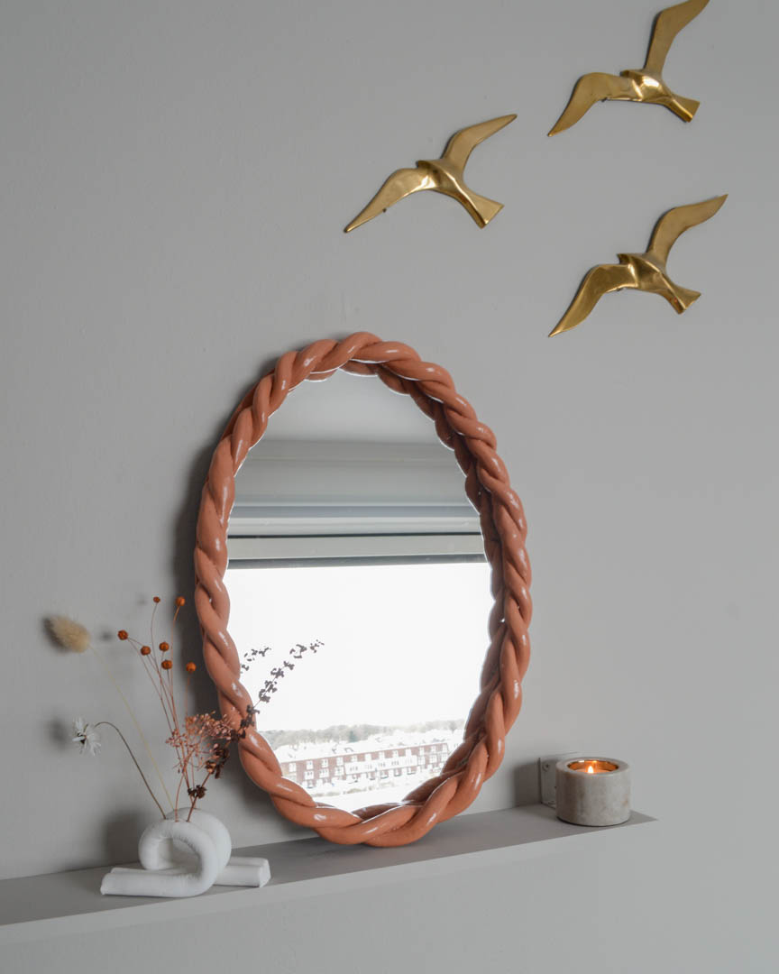 braided mirror